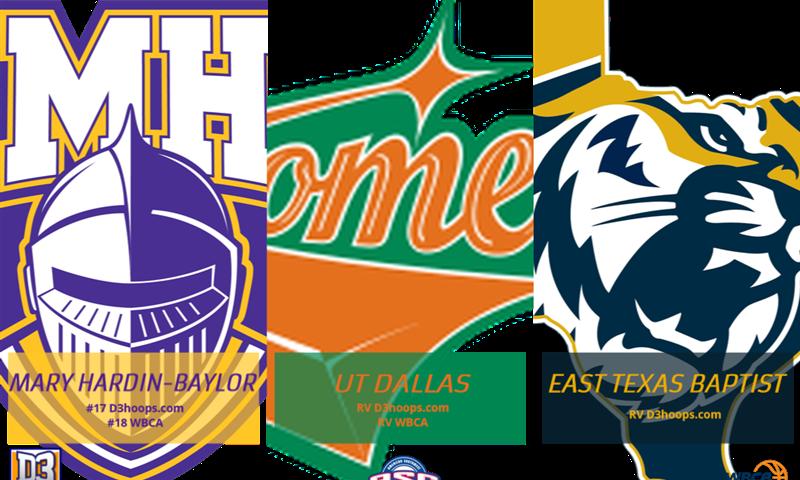 Cru, Comets, Tigers Remain in Women's Hoops Polls