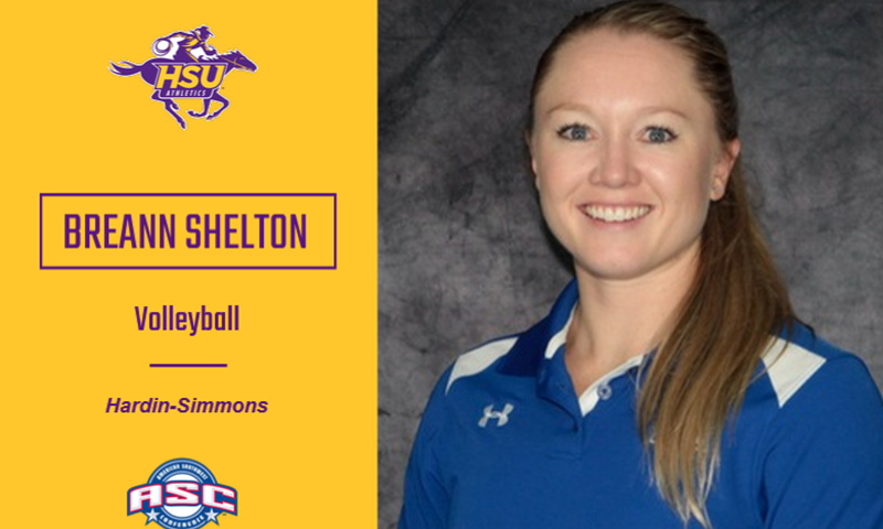 Shelton to Helm Hardin-Simmons Volleyball